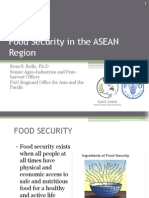 Food Security in The ASEAN Region