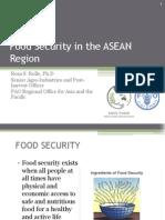 Food Security in The ASEAN Region