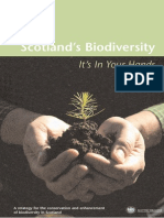 Scotlands Biodiversity - It's in your hands - Scottish Executive