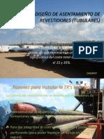 DISEÑO DE ASENTAMIENTO DE REVESTIDORES (TUBULARES)