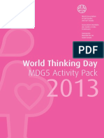 WTD 2013 MDG5 Activity Pack