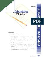 Ensayo1 Simce Matematica 2basico 2013