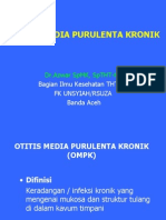 Otitis Media Purulenta Kronik