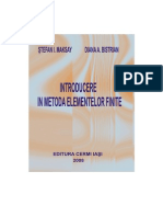 Introducere in metoda elementelor finite - STEFAN I. MAKSAY, DIANA A. BISTRIAN