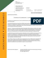 Comunicado Prensa Modelo Amgs