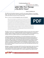 Peptide Synthesis for H1N1 Cases