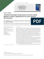 Tratamiento quirúrgico del granuloma central de células