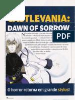 Detonado Castlevania Dawn of Sorrow