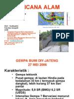 Presentasi Gempa-UGM 17 Mei 06