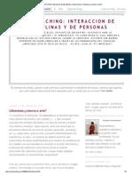 URBACOACHING_ interaccion de disciplinas y de personas_ Urbanismo_¿ciencia o arte_