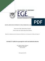 Luis Alberto Jiménez Alcántara-A01316370-2.5 Análisis de un presupuesto real