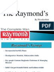 Raymond's.pptx