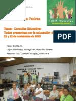 Orientación a padres sobre Consulta Educativa