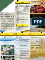 THE FOURTH ANNUAL SCIENTIFIC MEETING IN EMERGENCY NURSING (Leaflet dan Undangan)
