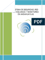 Sistema de Videovigilancia-red y Monitoreo - Andahuaylas