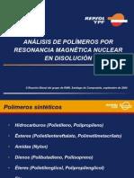 Analisis de Polimeros Por RMN en Disolucion