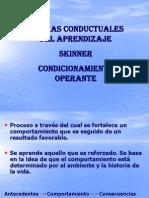 SKINNER (teoría conductual)