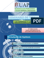 Las Hipotesis y Variables 02