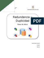 Redundancia y Duplicidad1