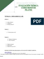 Evaluación Pilates