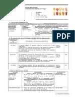 Sesion_de_aprendizaje Multiplicacion y Division de Nuemros Enterosa