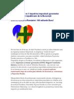 Distrugera României prin intermediul datoriilor