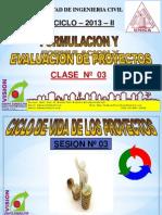 Clase 3 Ciclo de Vida de Proyectos 2013 II