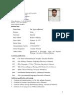 C V of Dr Atta ur Rahman Dept of Geography.pdf