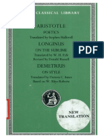 Aristotle, Longinus, Demetrius Aristotle-Poetics.  Longinus- On the Sublime  Demetrius- On Style (Loeb Classical Library No. 199)  1995.pdf