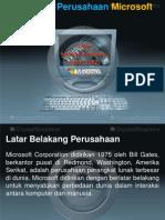 Profil Organisasi Perusahaan Microsoft.ppt