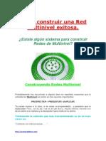 Cómo construir una Red Multinivel exitosa