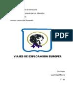 Trabajo de Historia Expancion Europea