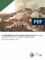 João Paulo Ferreira Silva - As Primeiras Invasões Francesas