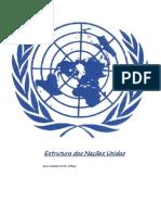 Estrutura Da ONU