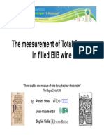 Total Oxygen in Wine