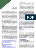 Schweinegrippeimpfung Betrug und Nebenwirkungen