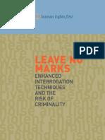 Leave No Marks - Enhanced Interrogation Techniques