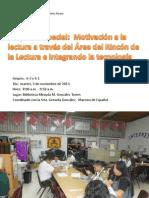 Proyecto Especial Motivando a la lectura....ppt