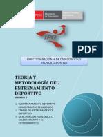 Teoria y Metodologia Del Entrenamiento Deportivo - Semana 2