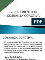 6. Procedimiento de Cobranza Coactiva