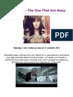 Katy Perry - The one that got away - Recenzie.doc