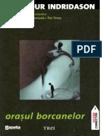 A.Indridason - Orasul Borcanelor v2.0.doc