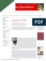 C. Leguil-萨宾娜La Chronique de Clotilde _ Lacan Quotidien