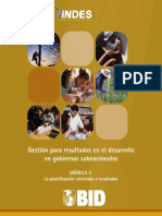 UNAM HFL Modulo 2 - La Planificacion Orientada a Resultados