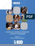 UNAM HFL Modulo 5 - Gestion de Programas y Proyectos