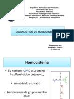Presentacion de Homocistinuria