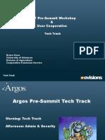 Argos Tech Track