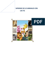 1.Proyecto de Aula Tic Conozco y Aprendo de Lo Animales Con Las Tic.