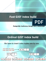 Fast GiST Index Build