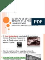 EL GOLPE DE ESTADO Y SU IMPACTO EN LA FORMACION ACADEMICA CHILE